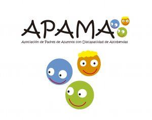 Apama logo Redes sociales+